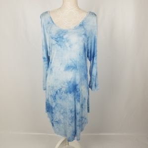 NWT Umgee tie dye long sleeve tunic